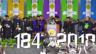CCNY Commencement 2018: Full Ceremony