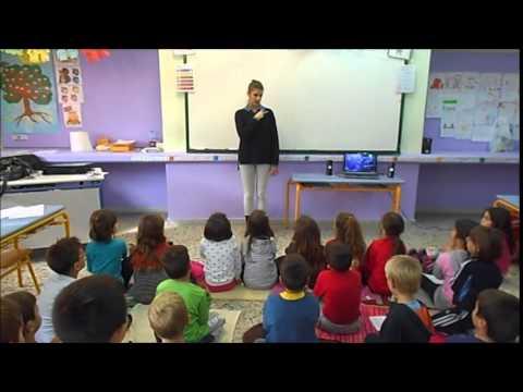 "15o ΔΣ Καλαμαριάς-Ελληνική Νοηματική Γλώσσα- ""Ο ψεύτης βοσκός"""