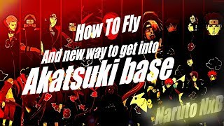 New! Roblox Naruto NxB how to glitch into Akatsuki base without a gamepass how to fly