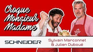 Croque Monsieur-Madame avec Sylvain Marconnet - Les recettes du TOP 14