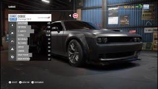 Dodge Challenger HELLCAT build [NFS: Payback]