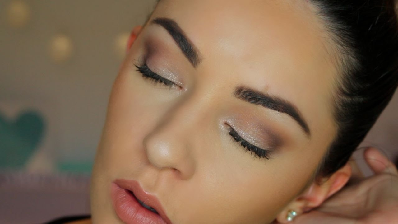 Everyday Makeup Tutorial For Hooded Eyes Youtube