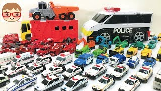 Transform Car Toy for Kids VooV Police car,Fire truck,ambulance,