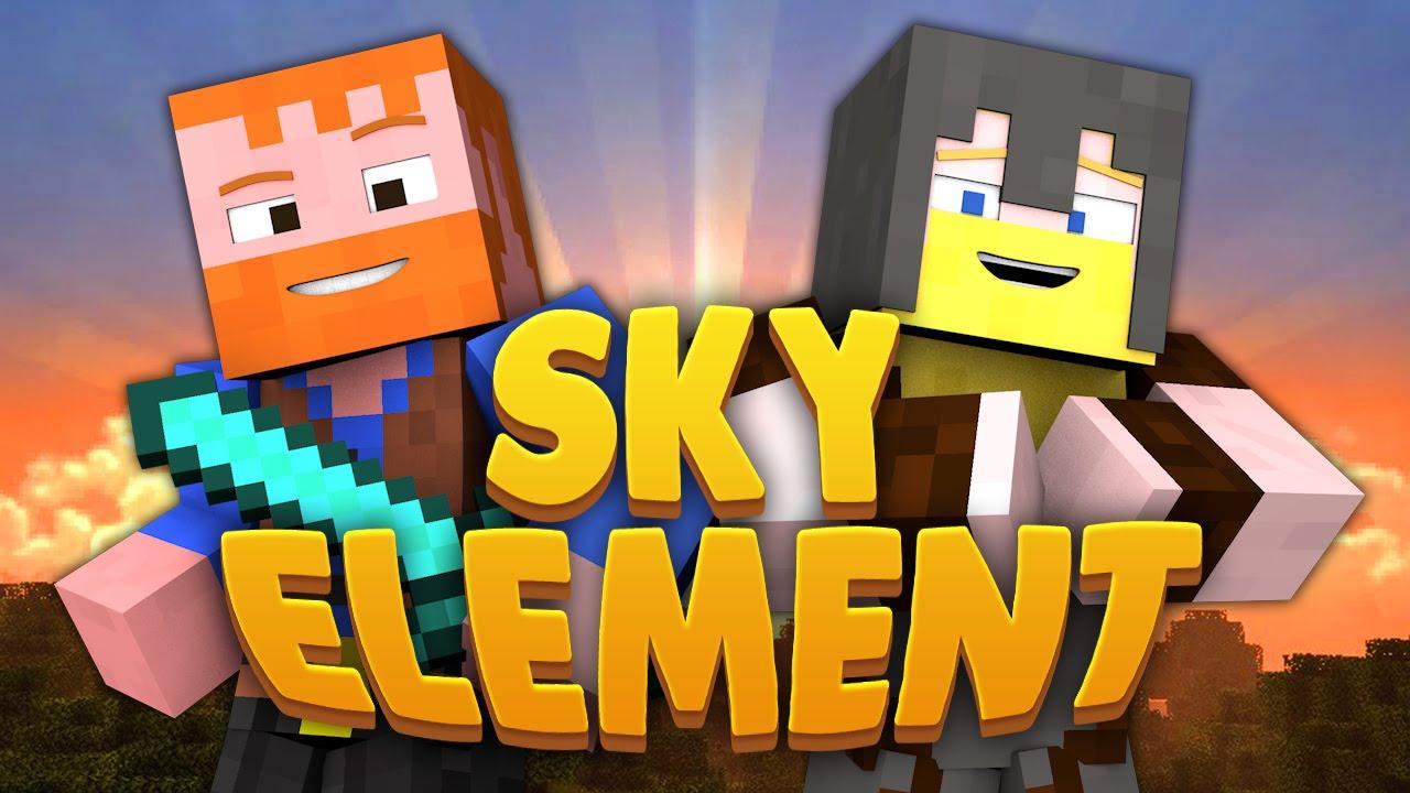 Minecraft sky element dumb dumber youtube sciox Images