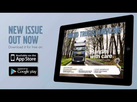 Volvo Trucks - New issue of the tablet magazine out now - feat. Boije Ovebrink
