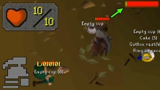 The battle for Lost City. Old School Runescape 10 HP Ironman. **MY ...