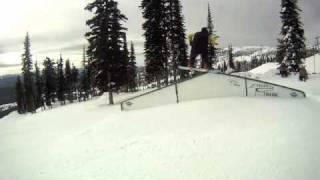 Big White 2011, jibbing around