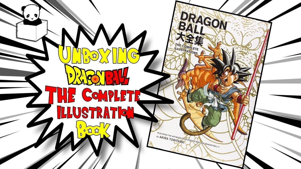 Mở hộp quyển sách tranh minh họa DragonBall/7 Viên Ngọc Rồng!!!