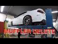Mid Muffler Delete Dodge Charger SRT392