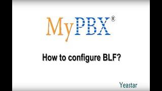 How to configure BLF?