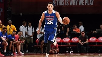 Ben Simmons: FIRST DOUBLE DOUBLE