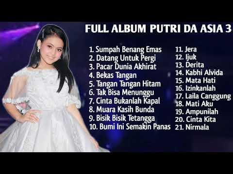 Kumpulan Lagu Putri DA Asia 3 Full Album