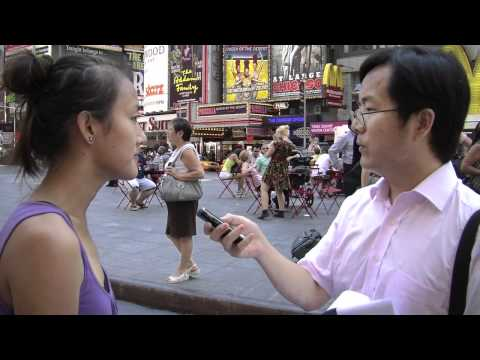 China's Xinhua News Takes Over NYC Times Square - Students for a Free Tibet Takes Action!