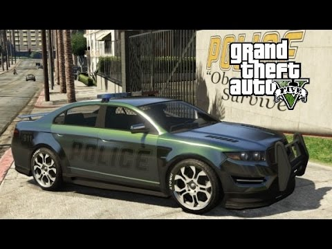 GTA 5 - How to Customize Police Vehicles (Singleplayer)