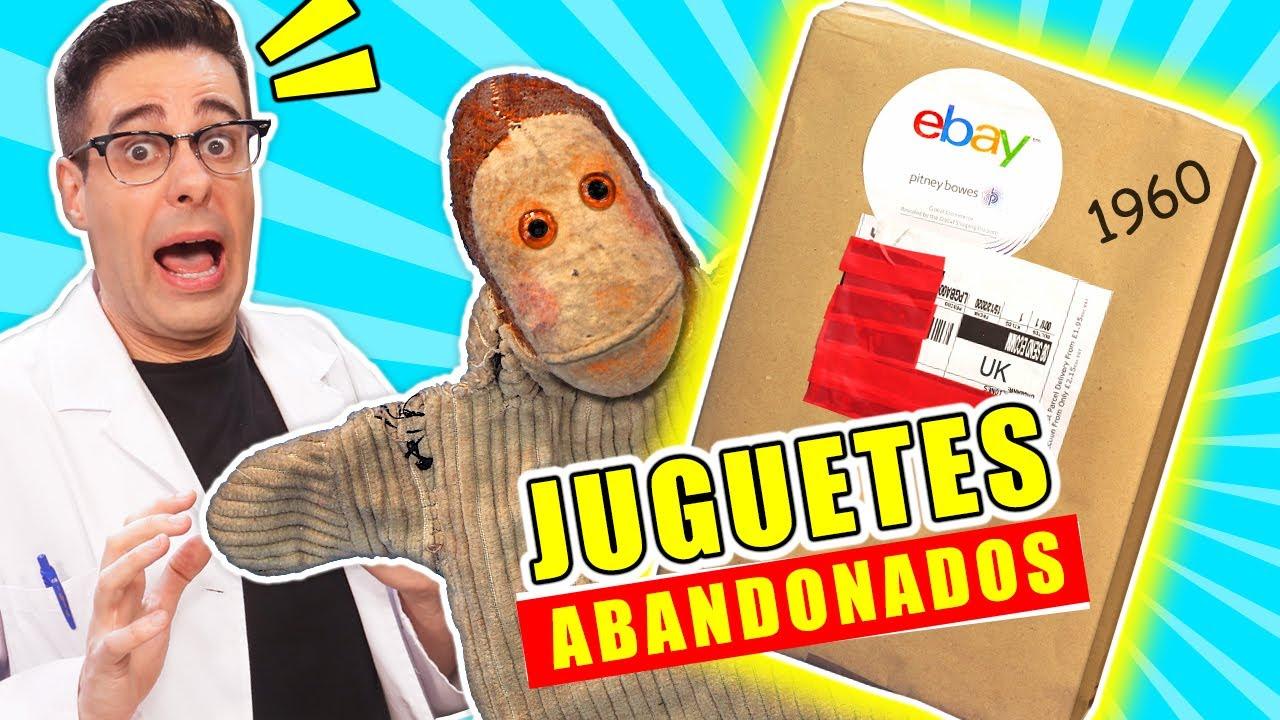 Compro CAJA DE JUGUETES ABANDONADOS de 1960 📦❓ | Caja Misteriosa eBay | Curiosidades con Mike