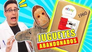 Compro CAJA DE JUGUETES ABANDONADOS de 1960 📦❓   Caja Misteriosa eBay   Curiosidades con Mike