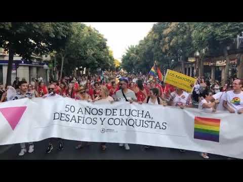 El Desfile Del Orgullo Gay En Sevilla 2019