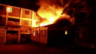 Section of Kitui County offices destroyed by fire