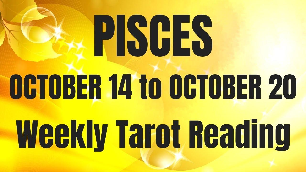 pisces weekly tarot october 14 2019