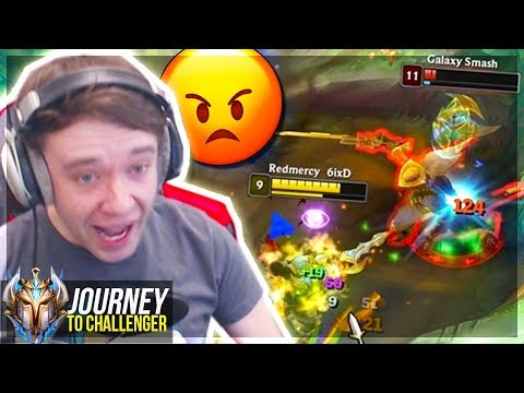 I&39;VE NEVER GOTTEN THIS TILTED BEFORE AAHHHHHHH - Journey To Challenger  LoL