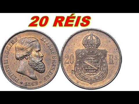 QUANTO VALE 20 RÉIS 1869