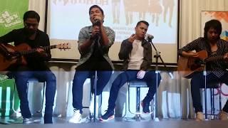 Armada nyanyiin lagu Asal Kau Bahagia di Kuala Lumpur