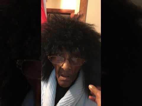 Grandma Daisy Mae Loves Hair Weave