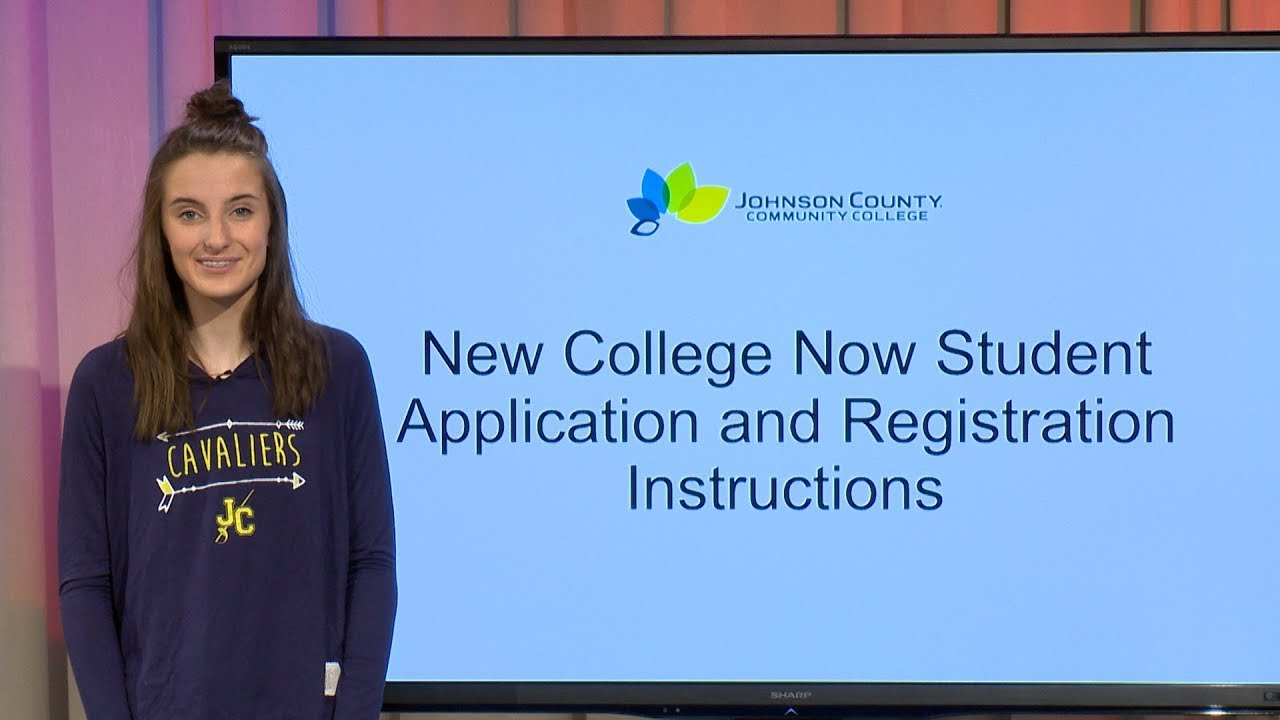 Application and Registration Instructions For New College Now Students