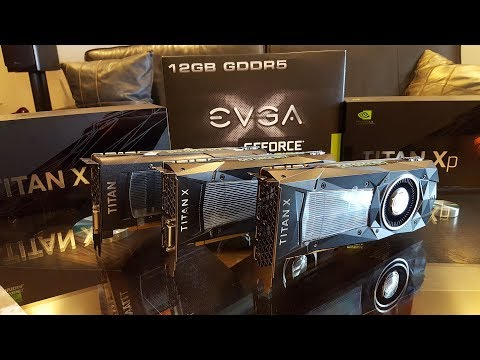 NVIDIA TITAN Xp UNBOXING & Comparison To TITAN X Pascal And Maxwell
