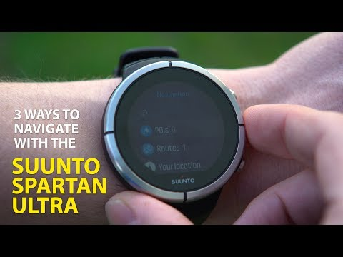 SUUNTO SPARTAN ULTRA REVIEW (3 Ways to Navigate)