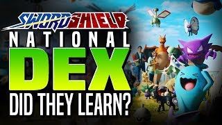 Will The National Dex Change ANYTHING With Pokemon Sword And Pokemon Shield ⚔ 🛡
