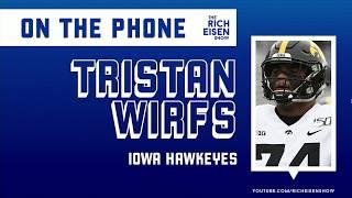 Iowa OL Tristan Wirfs' Athleticism Is Downright Dangerous. Literally. | The Rich Eisen Show | 4/3/20
