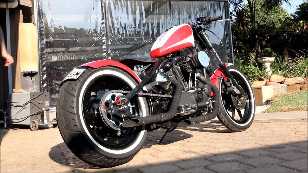 1982 Harley Davidson Ironhead Start Up