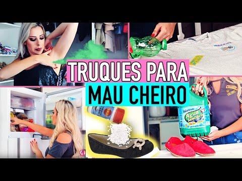 TRUQUES PARA MAU CHEIRO- CHULÉ, SUVACA, CC, ROUPA GUARDADA