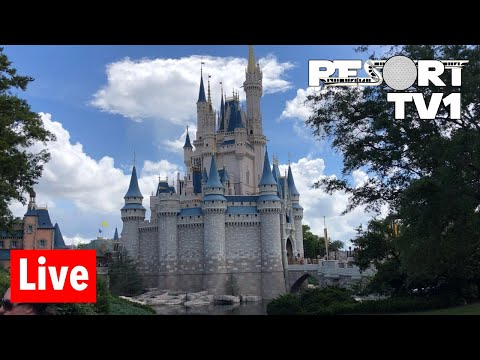 🔴Live: Magic Kingdom Live Stream  72018  Walt Disney World