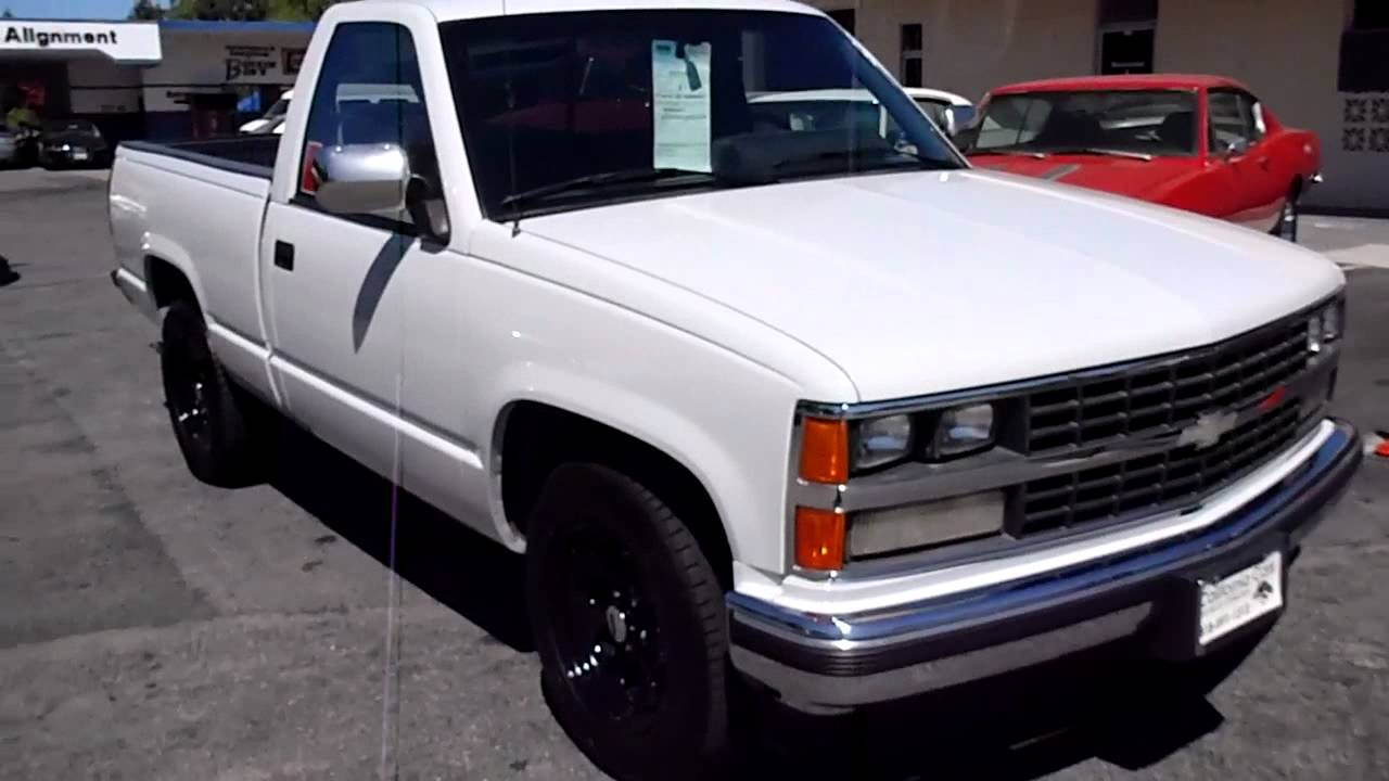 All Chevy c1500 chevy : 1989 Chevrolet C1500 - YouTube