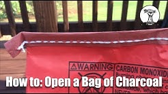 How To: Open a Bag of Charcoal or Dog Food