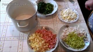 Как приготовить классическую окрошку