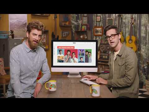 Rhett & Link | Create Your Own Website with Wix.com