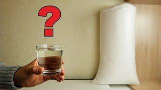 Можно ли растворить мешок пенопласта в стакане ацетона?