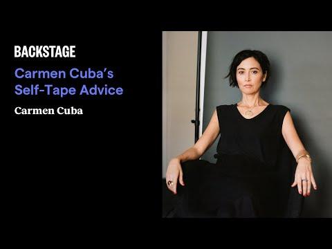Carmen Cuba's Self-Tape