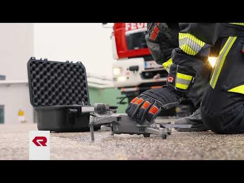 Leistungsstarke Drohnen im Feuerwehreinsatz - Digital Solutions von Rosenbauer
