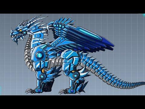 robot ice dragon game kids robot dinosaur games youtube