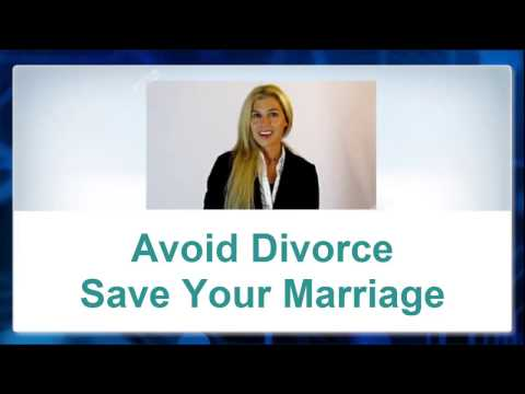Avoid divorce and Save Your Marriage