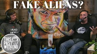 Eddie Bravo on getting into conspiracies and the newest trend to look into: Fake Alien Invasions.