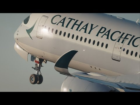 Cathay Pacific A350 Business Class Review: Hong Kong to Düss