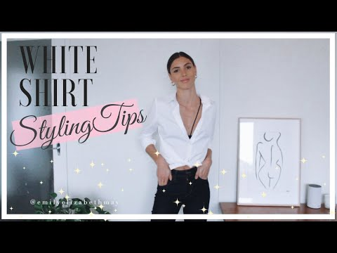 How To Wear A White Shirt In Different Ways | 2019