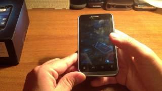 видео Дуалсим-смартфон ZTE V880E