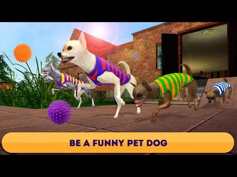 🐕🌭Chihuahua Simulator 3D-Симулятор Чиуауа-By Virtual Animals World-Android