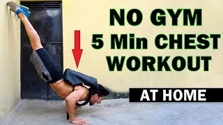 Easy Home Chest Workout (No Gym)